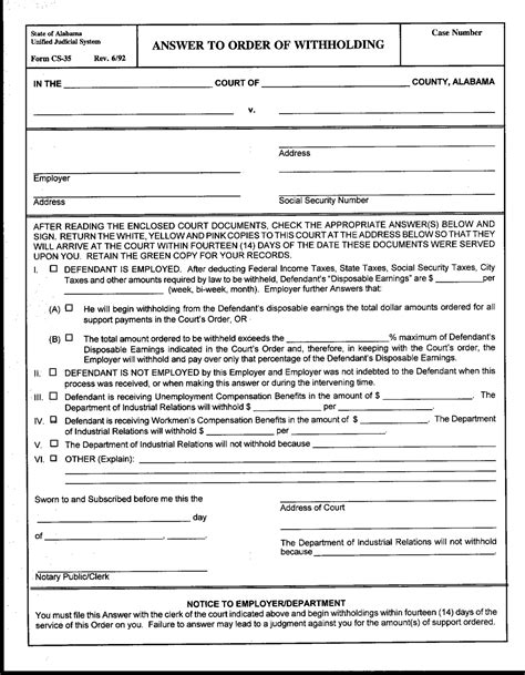 best photos of alabama blank divorce decree forms free
