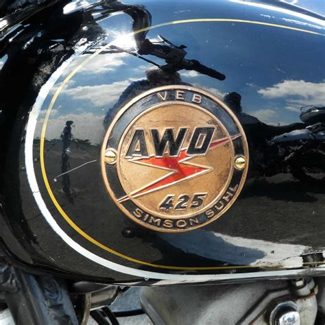 Awo Motorrad Logo logo der awo 425 simson suhl juli 2016