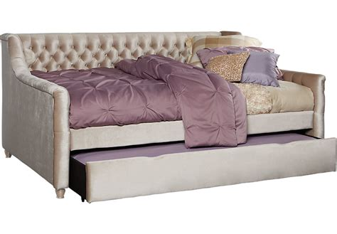 day bed full alena chagne 2 pc full daybed w trundle beds colors