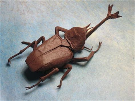 Insect Origami - insect origami damn cool pictures