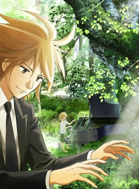 main cast crew members unveiled   piano forest