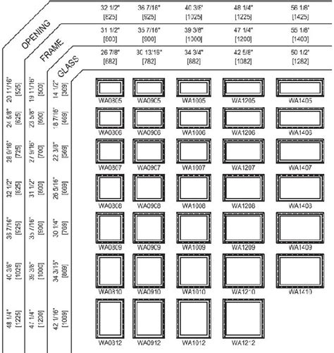 awning sizes chart awning window sizes 28 images casement windows sizes