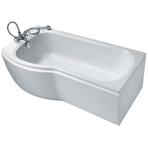 hand showers for bathtubs ideal standard alto 1700 x 800mm idealform plus left hand