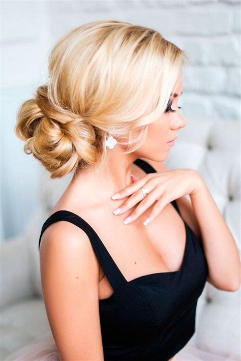 25 best ideas about bridesmaids hairstyles on bridesmaid hair hair updo and formal