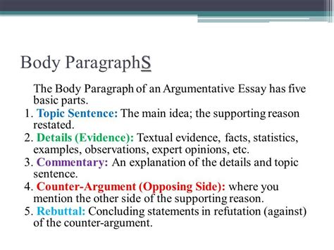 pattern of organization paragraph introductory paragraph essay exle the process essay