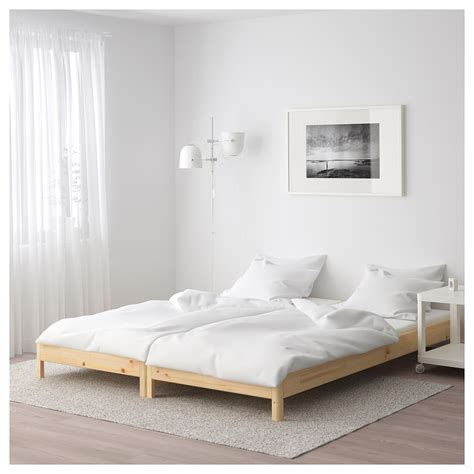 ikea pine bed ut 197 ker stackable bed pine 80x200 cm ikea