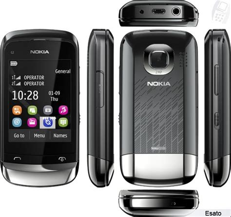 nokia c2 mobile phone themes nokia c2 06 picture gallery