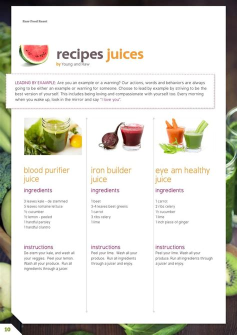 Organic Detox Cleanse Recipes by Food Detox Recipes