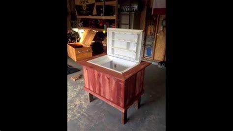 Patio Fridge by Diy How To Turn An Mini Fridge Refrigerator Into A
