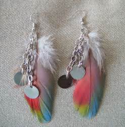 feather earrings for fluffy feather earrings