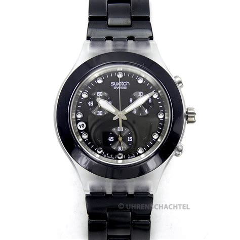 Swatch Irony Chrono 3 swatch uhr irony diaphane chrono blooded und svck4035ag ebay