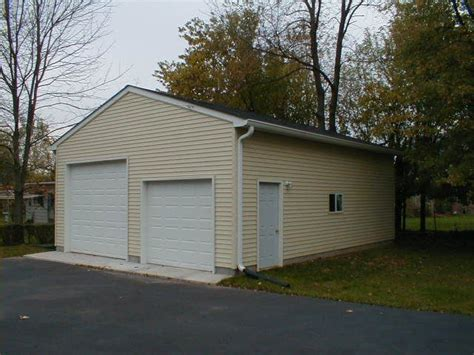 24x30 Garage by 17 Best Ideas About Detached Garage Cost On