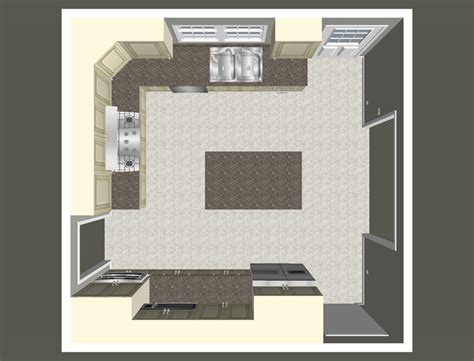 Kitchen Birds Eye View by Cost Vs Value Project Major Kitchen Remodel Remodeling