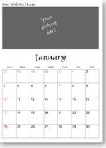 printable teddy bear calendars   calendar