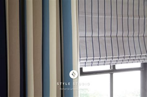 roman blinds with net curtains l m curtains and blinds roman blinds