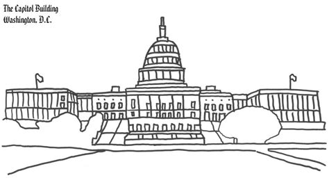 united states capitol building coloring page washington dc capitol building coloring page coloring book