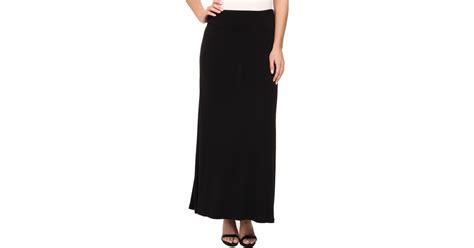 kensie light weight viscose spandex maxi skirt ks9k6s02 in