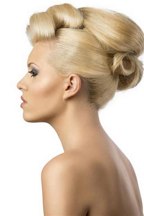 Hochzeitsfrisur Wenig Haare by Einfache Hochsteckfrisuren Mittellange Haare