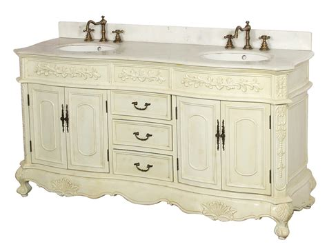 Antique White Double Vanity Antique White Bathroom Double Vanity
