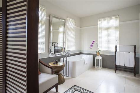luxury hotel room with private balcony villa song saigon