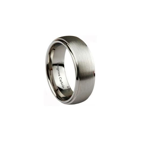 Tungsten Carbide Ring Wedding by Mens Rings Tungsten Mens Wedding Rings