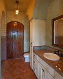 Mexican Bathroom Ideas by Spanish Colonial