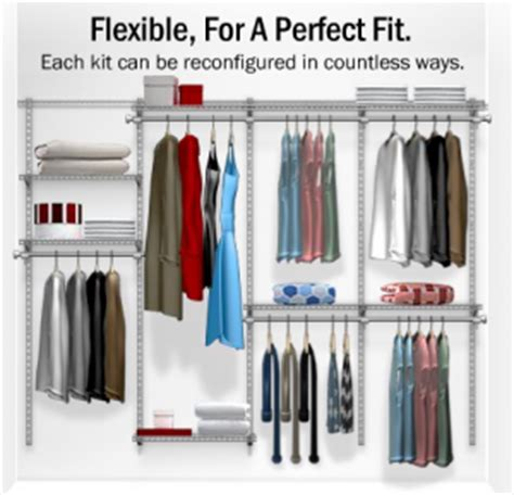 Rubbermaid Homefree Design Rubbermaid Closet Organizers Everything You Need To