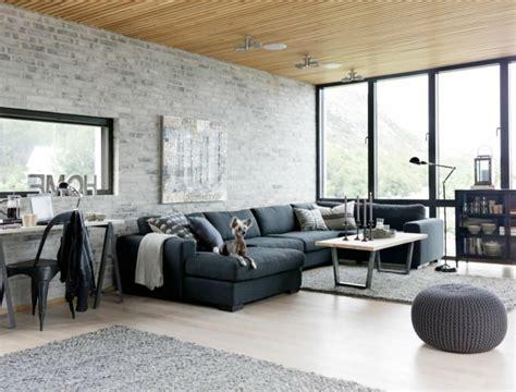 Schwarzer Läufer Teppich by 1001 Sofa Grau Beispiele Warum Sie Ein Sofa Genau