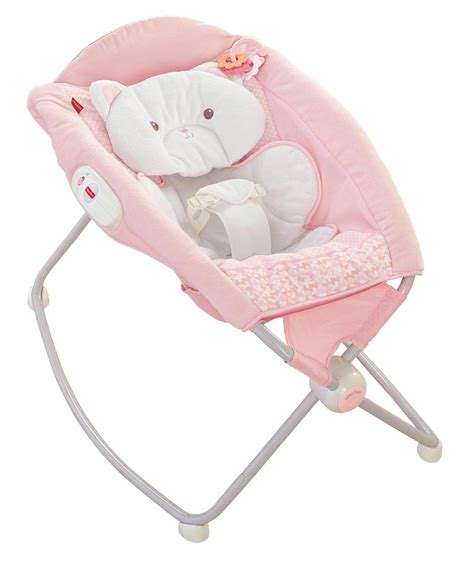 Baby Sleeper Chair by Fisher Price Snugakitty Deluxe Rock