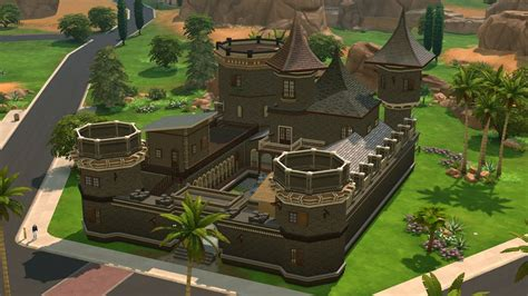 sims 4 medieval castle the sims 4 a look at my castle youtube