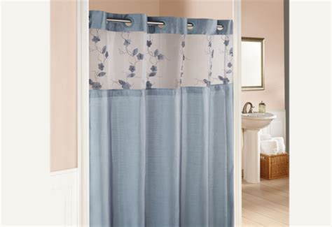 Home shower curtain shower curtains hookless 174 serena shower curtains