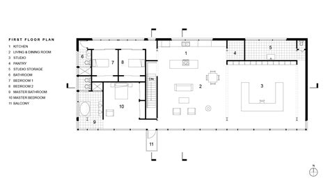 art studio floor plan artist studio and residence rpa richard pedranti architect