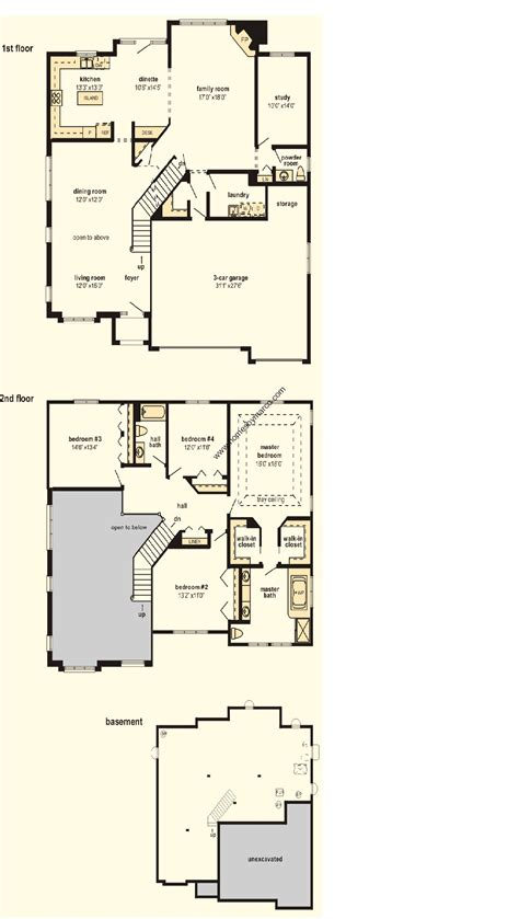 barrington floor plan barrington model in the brittany glen subdivision in orland park illinois homes by marco