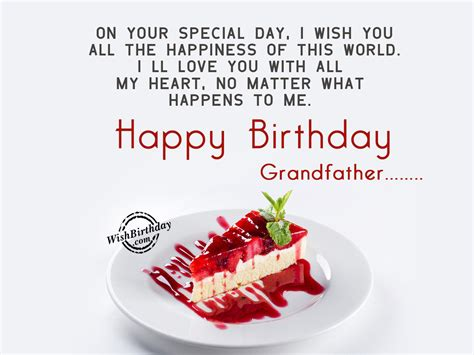 day special birthday wishes for grandfather birthday images pictures