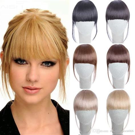 fake bangs clip for thin hair clip in bangs fake hair extension hairpieces false hair