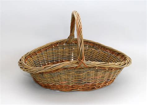 Gardening Basket Willow Garden Basket Willow Baskets By Katherine