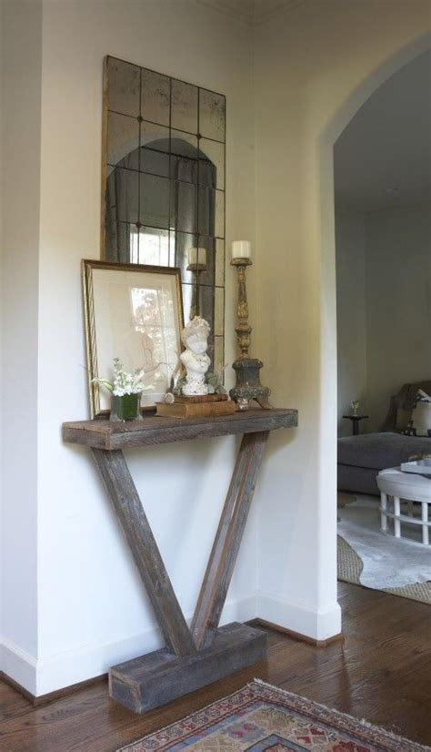 diy entryway diy pallet hall table woodworking projects plans