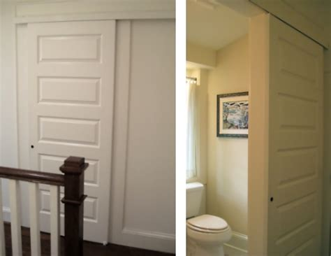 bathroom sliding barn door in praise of pocket doors and barn style sliders tamara