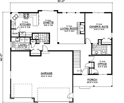 Weaubleau Ranch Home Plan 091d 0395 House Plans And More Ranch House Plans With Bedrooms Together