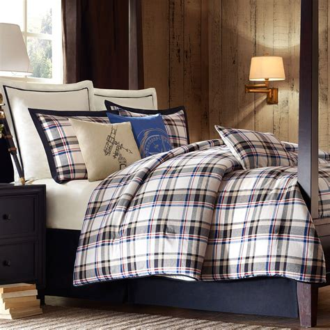 plaid bed big sky plaid comforter bedding by woolrich