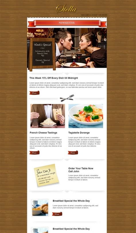 email template design inspiration 30 impressive email newsletters for inspiration designbump