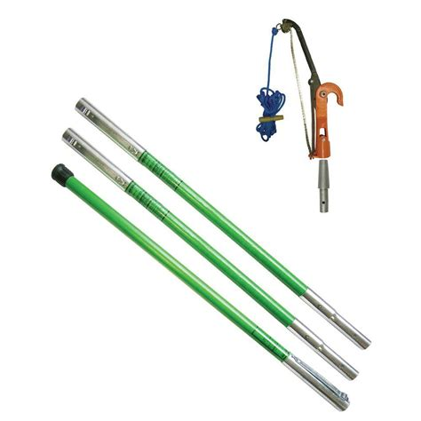 home depot pole ls landscaper ph 12 tree pruner package with three 6