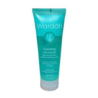 Wardah Hydrating Aloe Vera Gel Di Indo by Wardah Hydrating Aloe Vera Gel 100ml Lazada Indonesia
