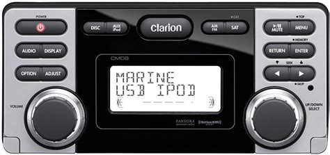 rock the boat marine stereo get 2019 s best deal on clarion cmd8 marine stereo rock