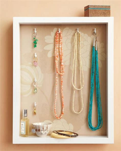 interior attractive necklace holder diy for better