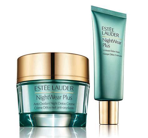 Estee Lauder Nightwear Plus Detox Creme by Est 233 E Lauder Nightwear Plus Detox Range News