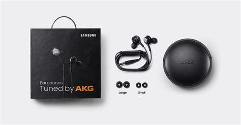 Earphone Samsung S8 Akg Black Ori New in ear headphones tuned by akg black samsung uk