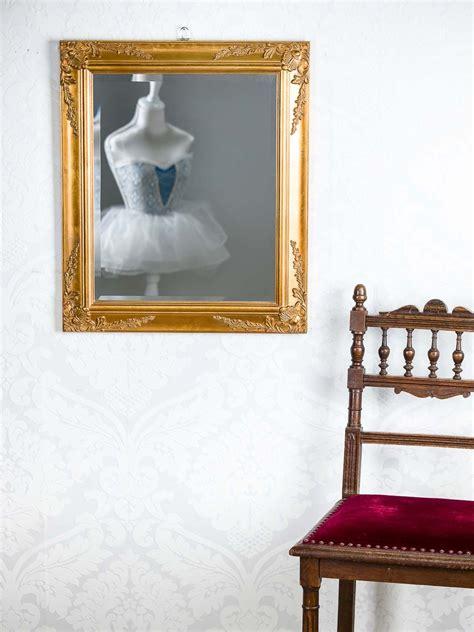 spiegel stil spiegel wandspiegel antik stil facettenschliff 53x63cm