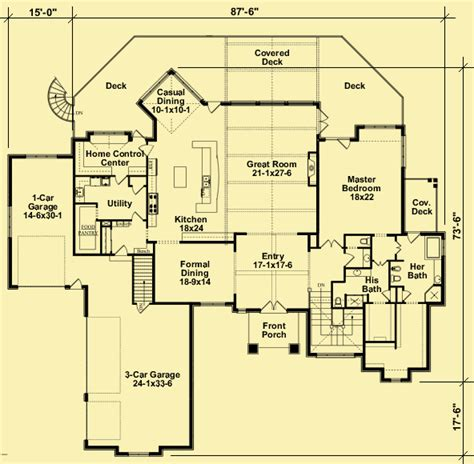 Mountain Chalet House Plans Architectural House Plans Floor Plan Details Mountain