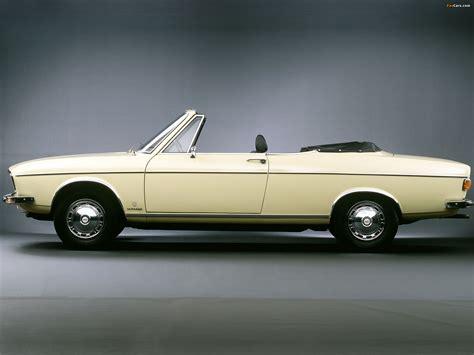 Audi 100 LS Cabriolet Prototype (C1) 1969 wallpapers (2048x1536)